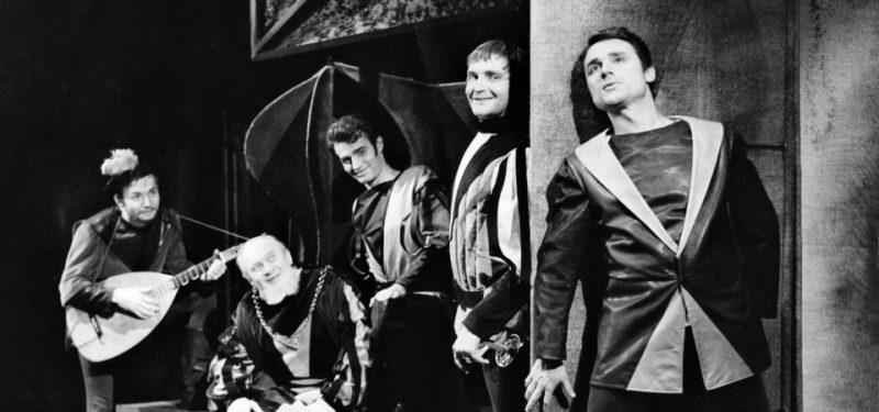 Rok 1968 - divadlo na protest normalizace uvedlo Jana Husa