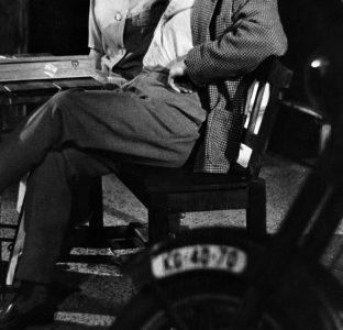 5. Radoslav Brzobohatý (Josef) v představení Křišťálová noc, premiéra 26. 4. 1962
