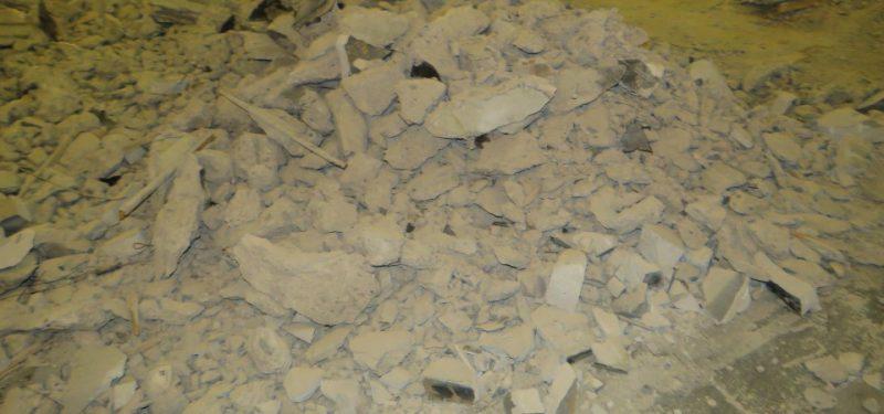 Jak po výbuchu granátu