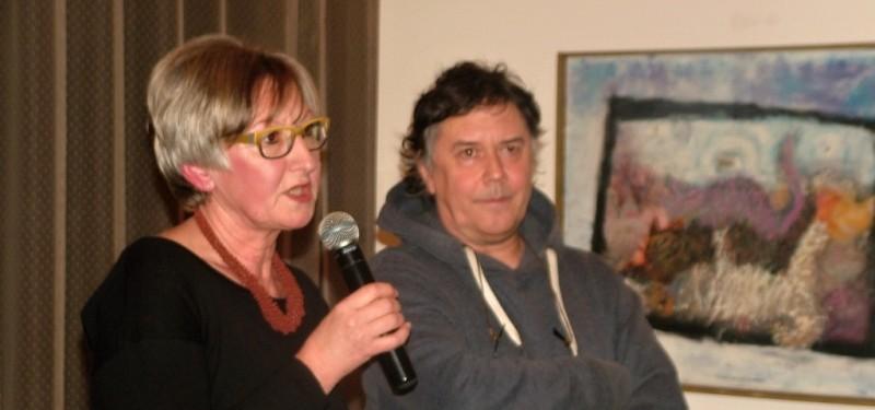 Marek Brodský vystavuje v divadle