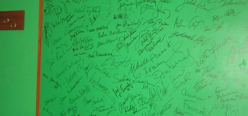 Konečně další autogramy!