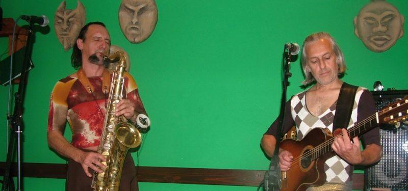 Sax & Crime předvedli v Déčku show