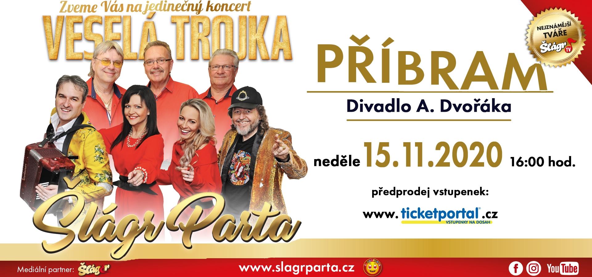 Šlágr Parta a VESELÁ TROJKA Pavla Kršky