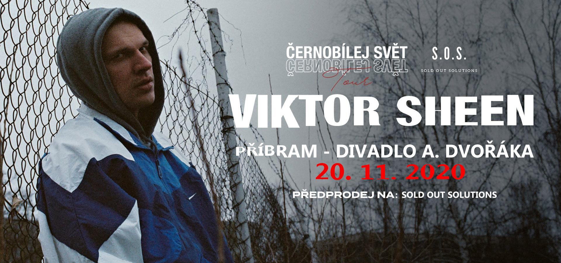 Viktor Sheen - Černobílej svět tour 2020